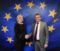Visit of Marian Petrache, President of the Romanian Ilfov County Council, to the EC
