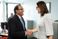 Visit of S. Iswaran, Singaporean Minister for Communications and Information, to the EC