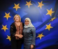 Visit of Maimunah Mohd Sharif, Executive Director of United Nations Human Settlements Programme (UN-Habitat), to the EC