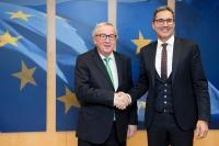Visit of Arno Kompatscher, Governor of the autonomous region of Bolzano, to the EC