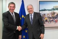 Visit of Stavros Lambrinidis, Head of the Delegation of the EU to the United States, to the EC