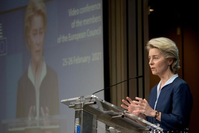 President Ursula von der Leyen