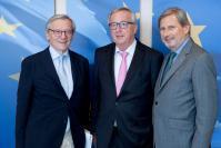 Visite de Wolfgang Schüssel, ancien chancelier fédéral autrichien, à la CE