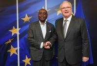 Visit of Donald Kaberuka, African Union High Representative for the Peace Fund, to the EC