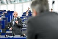 Participation of Pierre Moscovici, Member of the EC, at the Plenary session of the EP
