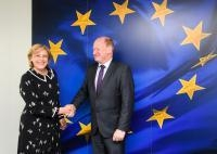 Visit of Reinhold Hilbers, Minister for Finance of the Land of Lower Saxony, to the EC