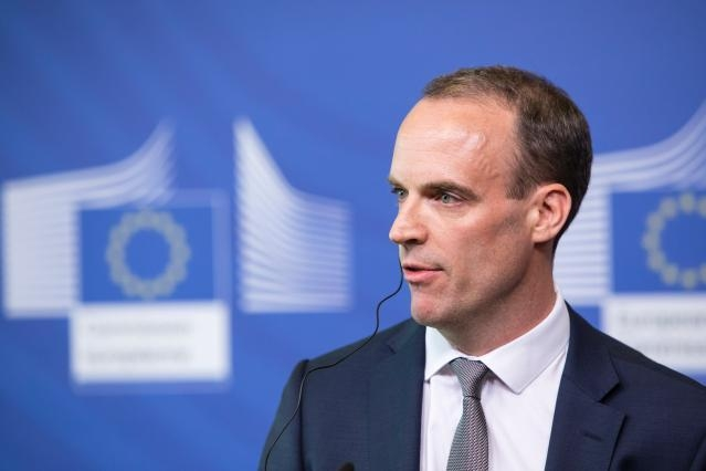 Press briefing by Michel Barnier, Chief Negotiator in charge of the Preparation and Conduct of the Negotiations with the United Kingdom, and Dominic Raab, Secretary of State for exiting the European Union