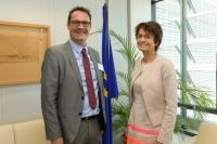 Visite de Danny Van Assche, administrateur général de l'Union des entrepreneurs indépendants (Unizo), à la CE