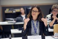 Cecilia Malmström, Member of the EC, at the 73rd session of the United Nations General Assembly, New York