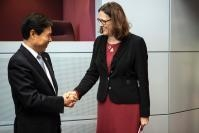 Visit of Zhong Shan, Chinese Minister for Commerce, to the EC