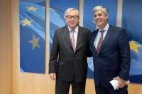 Visit of Mário Centeno, President of the Eurogroup, to the EC