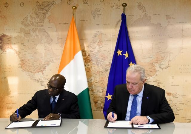 Visit of Marcel Amon-Tanoh, Ivorian Minister for Foreign Affairs, to the EC