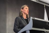 Discours de Federica Mogherini, vice-présidente de la CE, devant les Commissions de la défense et de la sécurité, et de l'économie et de l'économie et de la sécurité de l'assemblée parlementaire de l'Otan.