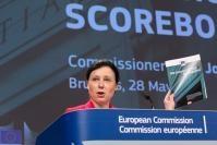 Press Conference by Vĕra Jourová, Member of the EC, on the EU Justice Scoreboard 2018