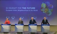 Press conference by Federica Mogherini, Vice-President of the EC, Johannes Hahn, Neven Mimica and Christos Stylianides, Members of the EC, on Neighbourhood and the World