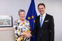 Visist of Rose Gottemoeller, Deputy Secretary-General of the North Atlantic Treaty Organization (NATO), to teh EC