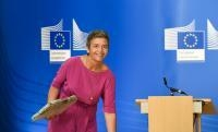 Press conference by Margrethe Vestager, Member of the EC, on a competition case: Commission fines four consumer electronics manufacturers for fixing online resale prices