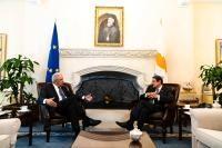 Visit of Dimitris Avramopoulos, Member of the EC, to Cyprus