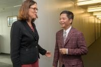 Visit of Trần Tuấn Anh, Vietnamese Minister for Industry and Trade, to the EC