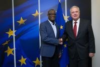 Visit of Denis Mukwege, Founder and Medical Director of the Panzi Hospital in Bukavu and co-Laureate of the 2018 Nobel Peace Prize®, to the EC