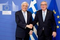 Visit of Prokopios Pavlopoulos, President of Greece, to the EC