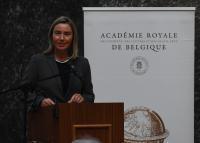 Discours de Federica Mogherini, vice-présidente de la CE, à l'Académie royale des sciences, des lettres et des beaux-arts de Belgique