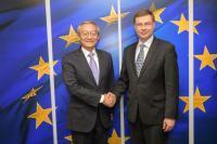 Visit of Zhang Ming, Head of the Mission of China to the EU, to the EC