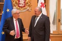 Visit by Jean-Claude Juncker, President of the EC, to Georgia