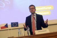 Visite de Carlos Moedas, membre de la CE, en République tchèque