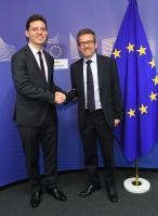 Visit of Victor Negrescu, Romanian Minister Delegate for European Affairs, to the EC