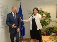 Visit of Giorgi Kobulia, Georgian Minister for Economy and Sustainable Development, to the EC