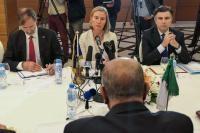 Visite de Federica Mogherini, vice-présidente de la CE, en Algérie