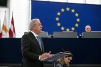 Participation de Dimitris Avramopoulos, membre de la collège de la CE, à la session plénière du PE