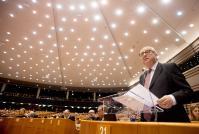 Participation de Jean-Claude Juncker, président de la CE, et Michel Barnier, Négociateur principal de la CE pour la conduite des négociations avec le Royaume-Uni en vertu de l'article 50, au débat sur le Brexit au PE