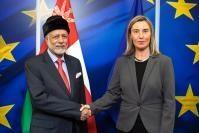 Visite de Yousef bin Alawi bin Abdullah, ministre omanais des Affaires étrangères, à la CE
