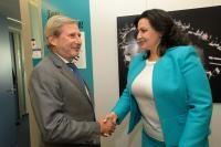 Visite de Ivanna Klympush-Tsintsadze, vice-Première ministre ukrainienne chargée de l'intégration européenne et euro-atlantique, à la CE
