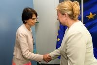 Visit of Beate Hartinger-Klein, Austrian Federal Minister for Labour, Social Affairs, Health and Consumer Protection, to the EC
