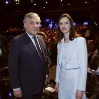 Visite de Federica Mogherini, vice-présidente de la CE, et de Mariya Gabriel, membre de la CE, en Italie