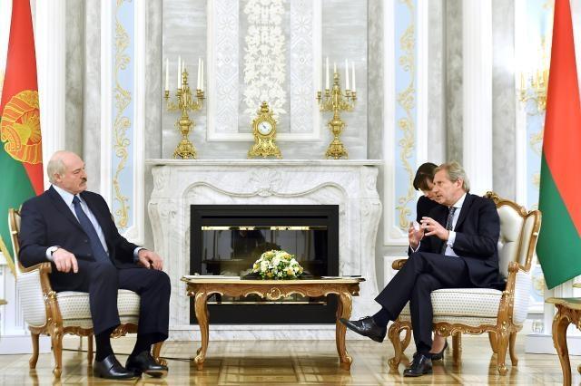 Visit by Johannes Hahn, Member of the EC, to Belarus