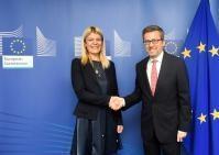 Visit of Sanja Damjanović, Montenegrin Minister for Science, to the EC