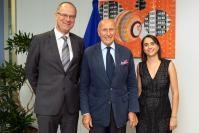 Visit of Rodolphe de Looz-Corswarem, President of the European Historic Houses Association, to the EC