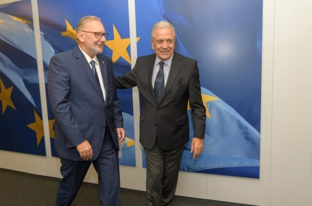 Visit of Davor Božinović, Croatian Minister for the Interior, to the EC