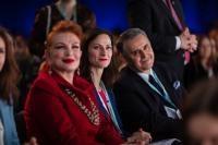 Visite de Mariya Gabriel, membre de la CE, en Pologne