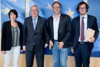 Visite de Christophe Deloire, secrétaire général de Reporters sans frontières (RSF), à la CE