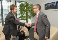 Visite de Tristan Harris, co-fondateur et directeur exécutif du Center for Humane Technology, à la CE