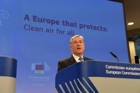 Statement by Karmenu Vella, Member of the EC, on action to improve air quality in Europe