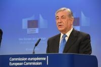 Conférence de presse de Karmenu Vella, membre de la CE, sur les actions visant à améliorer la qualité de l'air en Europe