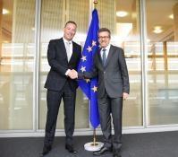 Visite de Tim van der Hagen, Rector Magnificus et président du comité exécutif de l'Université de technologie de Delft, à la CE
