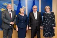Visit of Viorica Dăncilă, Romanian Prime Minister, to the EC