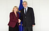 Visit of Harriett Baldwin to the EC
